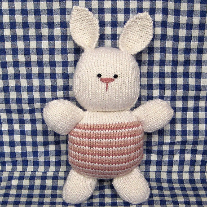 Candy Rabbit in DK by Amanda Berry - Digital Version-Deramores