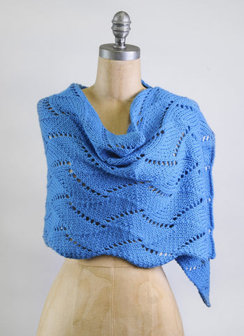 Cane Bay Wrap in Blue Sky Extra (3815)-Deramores
