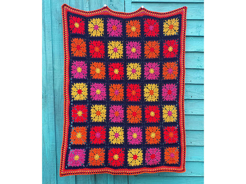 Carousel Blanket Crochet Kit and Pattern
