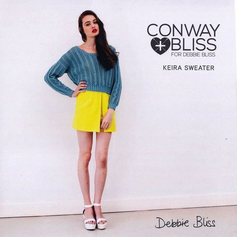 Keira Sweater in Debbie Bliss Mia (CB005)-Deramores