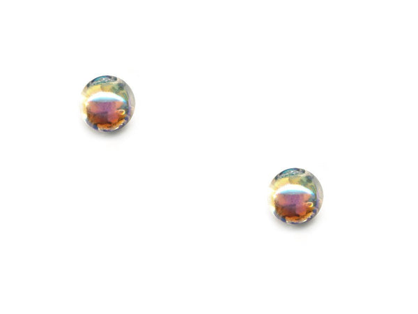 Domed Pearl Effect Buttons - Clear - 084-Deramores