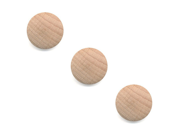 Round Wooden Buttons - 1000