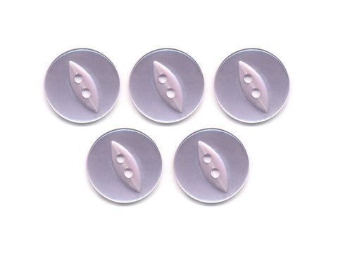Fish-Eye Buttons - Purple - 128-Deramores
