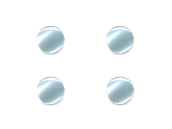 Round Shell Effect Buttons - Blue - 146
