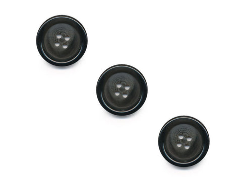 Round Rimmed Graduated Effect Buttons - Grey - 193