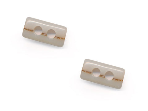 Shell Effect Toggles - Cream - 231