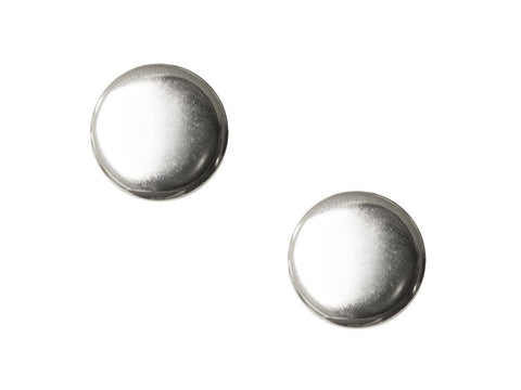 Shield Detail Metal Buttons - Silver - 136