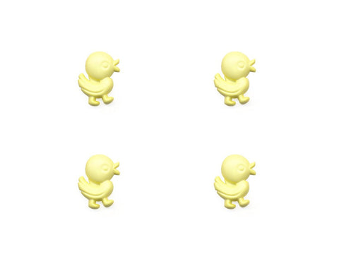 Duck Shaped Buttons - Yellow - 334-Deramores