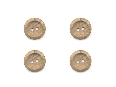 Round Stone Texture Effect Buttons - Beige - 512