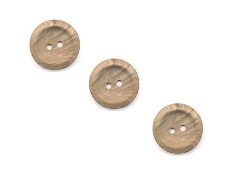Round Stone Texture Effect Buttons - Beige - 513