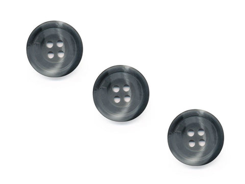 Round Shell Effect Buttons - Grey - 541