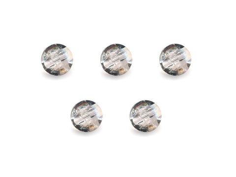 Diamond Effect Buttons - Clear - 884-Deramores