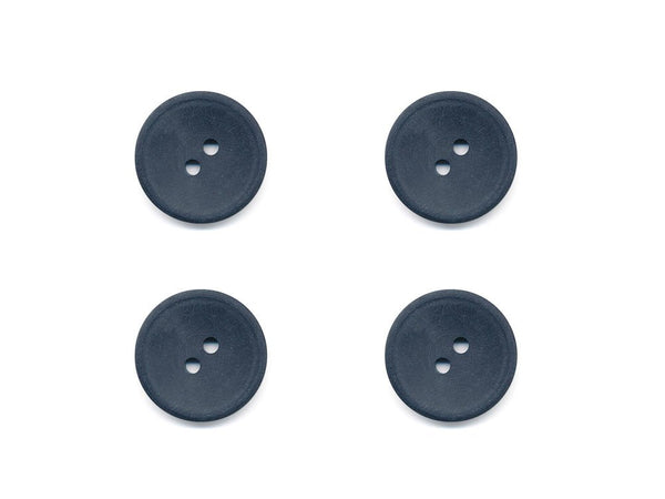 Round Plain Buttons - Grey - 967