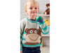 Cheeky Little Monkey Sweater Knitting Kit and Patter in Scheepjes Yarn