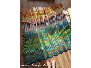 Chevrainbow Blanket Crochet Kit and Pattern in Scheepjes Yarn