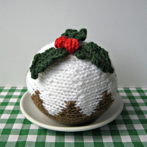 Christmas Pudding in DK by Amanda Berry - Digital Version-Deramores