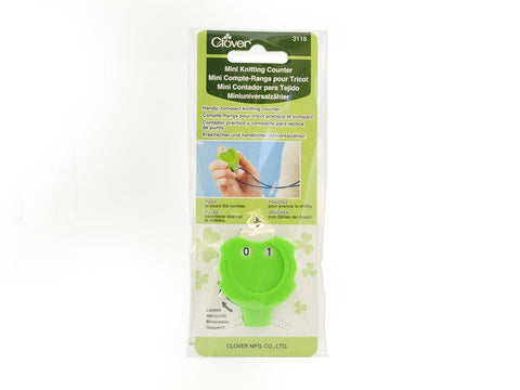 Clover Mini Knitting Counter-Deramores