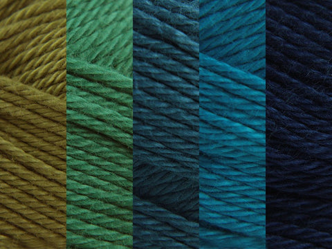 Sirdar Cotton DK Colour Pack - Ocean
