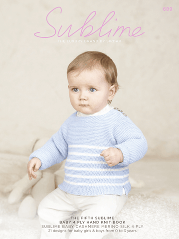 The Fifth Sublime Baby 4 Ply Hand Knit Book