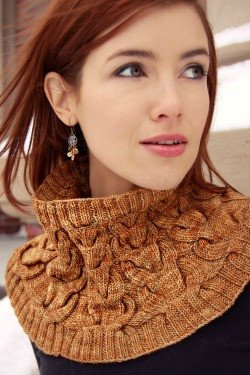 Cream and Sugar Cowl by Never Not Knitting-Deramores