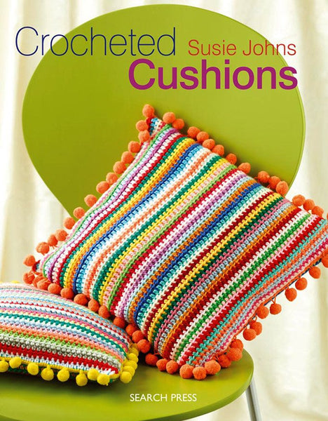 Crocheted Cushions by Susie Johns