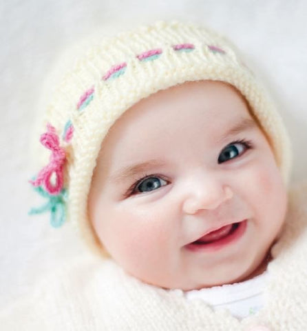 Baby Beanie by Susie Johns - Digital Version-Deramores