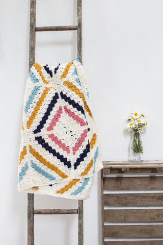 Cedar River Blanket by Kat Goldin - Digital Version-Deramores