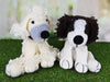 Dera-Dogs - Poodle & Spaniel Crochet Kit and Pattern