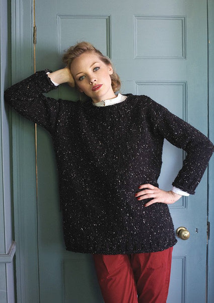 Easy Knit Sweater by Debbie Bliss - Digital Version-Deramores