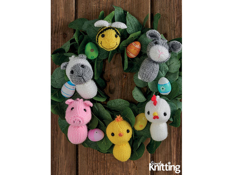 Simply Knitting Easter Decorations Colour Yarn Pack in Hayfield Yarn