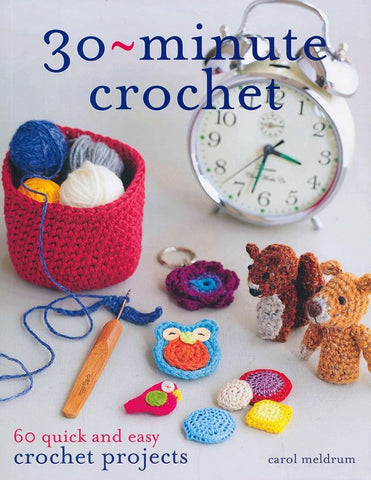 30 Minute Crochet (Blue)