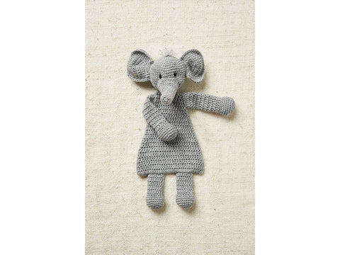 Elephant Flat Toy Crochet Kit and Pattern in Patons Yarn