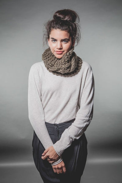 Oh La La Snood by We Are Knitters