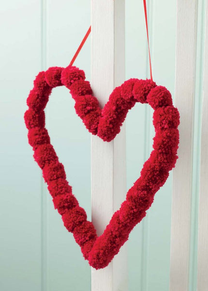 Fabulous Pom Pom Heart - Digital Version-Deramores