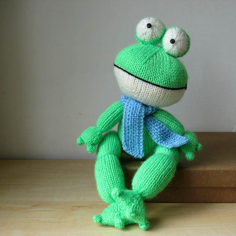 Felix the Frog in DK by Amanda Berry-Deramores