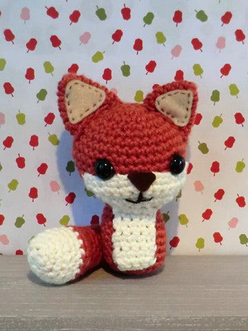 Amigurumi Fox by Liz Ward - Digital Version-Deramores