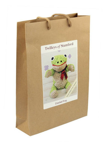 Crochet Finlay Frog Kit by Twilleys-Deramores