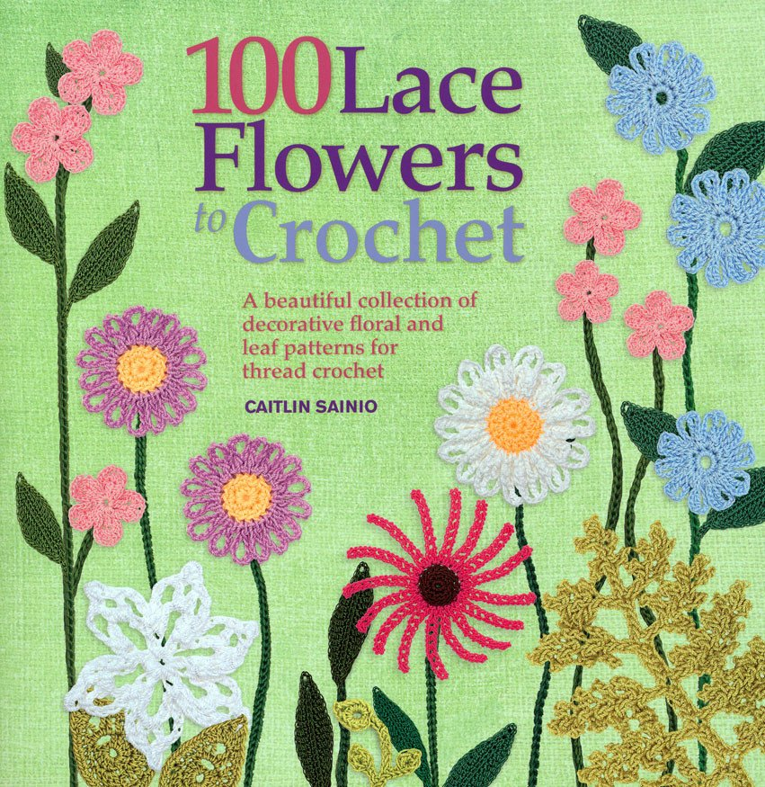 Image of 100 Lace Flowers to Crochet