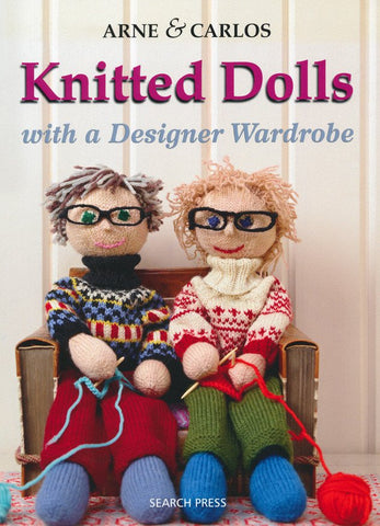 Knitted Dolls - With A Designer Wardrobe