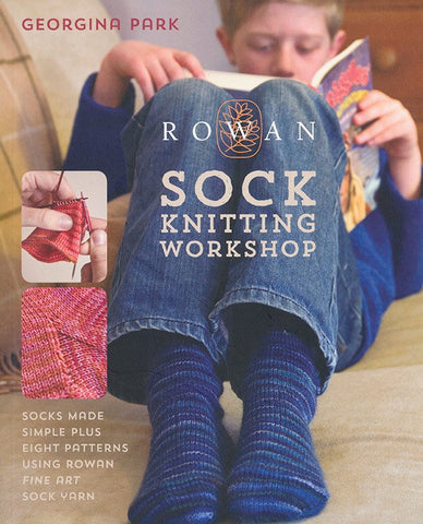 Rowan Sock Knitting Workshop by Georgina Park