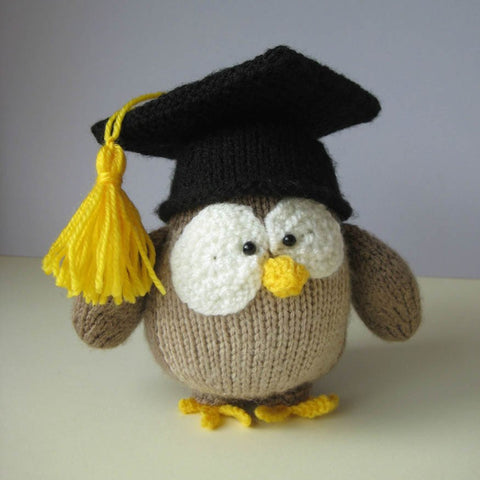 Graduation Owl in DK by Amanda Berry - Digital Version-Deramores