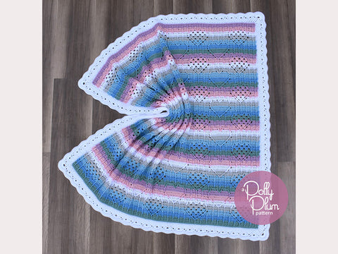 I Heart Granny Baby Blanket Crochet Kit and Pattern in Stylecraft Yarn