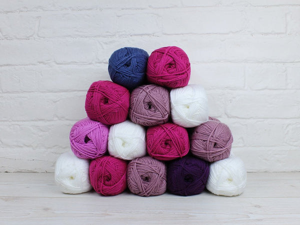 Deramores Studio DK - Rose of Avalon Vintage Blanket Colour Pack