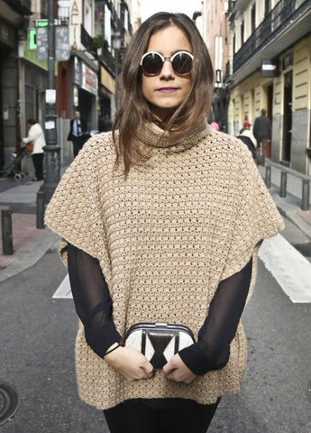 Iriri Poncho by We Are Knitters-Deramores
