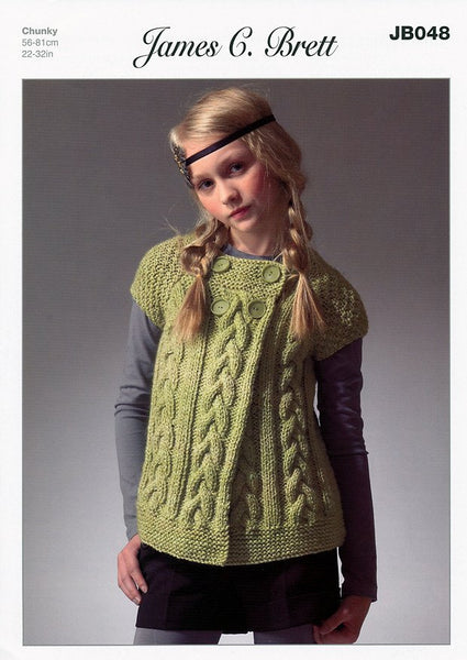 Cardigan in James C. Brett Marble Chunky (JB048)-Deramores