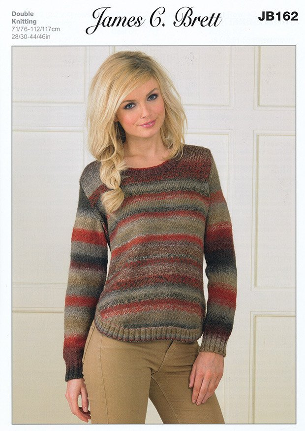 c35214d61 Sweater in James C. Brett Marble DK (JB162) – Deramores