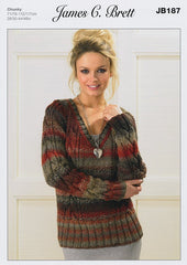 Sweaters in James C. Brett Marble Chunky (JB187)