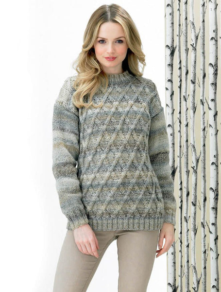 Sweater in James C. Brett Marble Chunky (JB288)