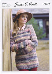 Sweater in James C. Brett Marble Chunky (JB370)