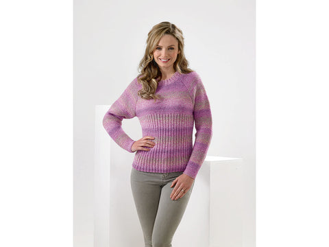 Sweater in James C. Brett Marble DK (JB588)